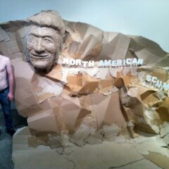 Nixon visits to the Shady Side of Mount Rushmore // Digital Image // Dimensions Variable // 2011