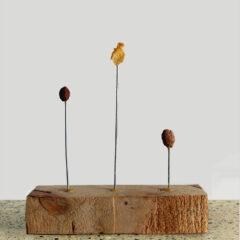 Cereal Award Winner // Wood, Wire, Glue, Kellogg's Cornflakes, Coco Pops: Coco Rocks & Krave: Totally Chocolatey // 25 x30 x 7 cm // 2011