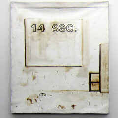 It does what it says on canvas No.2 // Acrylic on Canvas // 80 x 100 cm // 2013