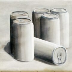 Morandi 6 Pack // Acrylic on Canvas, Wood // 30 x 30 cm // 2013