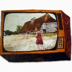 CH.58: Very Nearly: Maire enters Bruegel Town // Oil on MDF // 45 x 62 cm // 2003