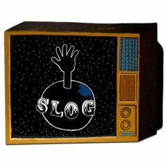 CH.78: Planet Slog // Oil & Acrylic on MDF // 70 x 92 cm // 2007