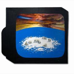 CH.80: Gericault 2000 // Oil & Acrylic on MDF // 62 x 73cm // 2007