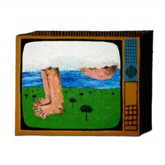 CH.89 The Dump (From the Natural Disasters of God Series) // Oil & Acrylic on MDF // 46 x 60 cm // 2007