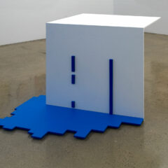 Emotional Minimalism // MDF, Acrylic Paint, Screws, Glue // 140 x 130 x 100 cm // 2009