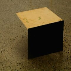 Fashionably Finished Potential // MDF, Screws, Perspex, Glue // 28 x 32 x 37 cm // 2009
