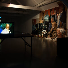 Duds N Scuds // TV, DVD Player, Table // 3:10 min // Dimensions Variable // 2011