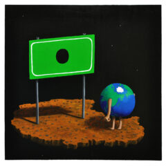 Goya's Gaia #08 // Acrylic on board 60 x 61cm // 2010