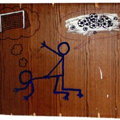 Porno Klee // Acrylic on Board // 70 x 50 cm // 2006