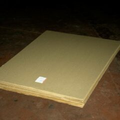 Minimalist Bulgarian Sculpture // Cardboard, Receipt of Purchase // 180 x 100 x 25 cm // 2007