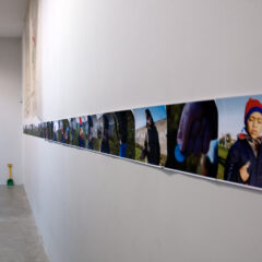 Sometimes Crime Pays Charity // 36 Frame Animation Strip // Digital Print on Paper // 600 x 30 cm// 2006