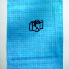 Morandi 6 Pack // Dish Cloth & Permanent Marker// 2013