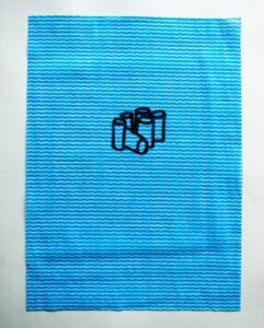 Morandi 6 Pack // Dish Cloth & Permanent Marker// 2013