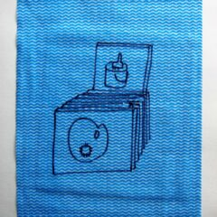 A Painters Dozen // Dish Cloth & Permanent Marker// 2013