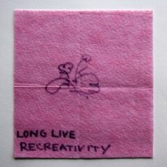 Plague of Paraphrased Plagiary // Dish Cloth & Permanent Marker// 2013