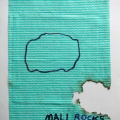 Google Image Search: Uranium // Dish Cloth & Permanent Marker// 2013