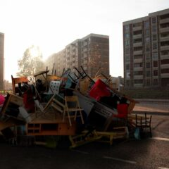 Flat Pack Riot 1 // Digital Media // 2006