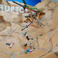 Landslide @ Lake Prosperity // Action Sculpture // Airborne Dimensions // 2011