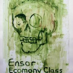 Ensor's Daily Digest // Acrylic on Card// 100 x 65 cm // 2013