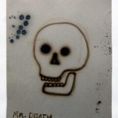 Deadly Nostalgia // Acrylic on Card// 110 x 65 cm // 2013