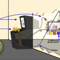 Working Diagram // Flash Animation // 2004
