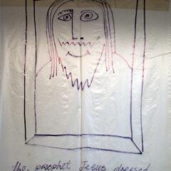 retteB eht diaS sseL ehT // Polyurethane, Permanent Marker // 420 x 230 cm// 2006