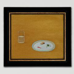 The Jockeys Banquet – Stubbs De-Lite // Oil 0n Board // 30 x 40 cm // 2005