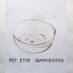Celestial Cereal Bowl // Acrylic on Card// 100 x 65 cm // 2013