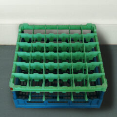 Bottle Rack Made to Last: The Conservationists Dry Dream (ALL READY MADE SERIES) // Plastic Bottle Rack // 80 x 80 x 25 cm // 2005